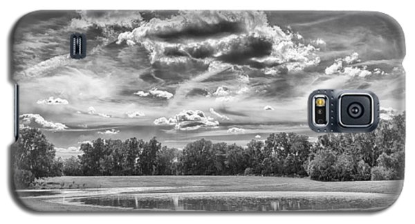 Galaxy S5 Case featuring the photograph The Pond by Howard Salmon