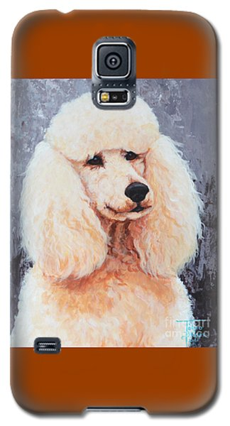 Attentive Poodle Galaxy S5 Case