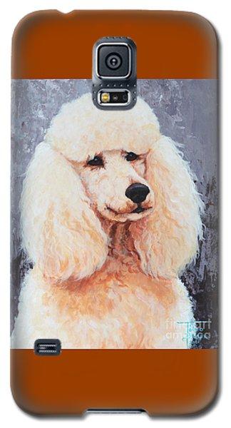 Attentive Poodle Galaxy S5 Case