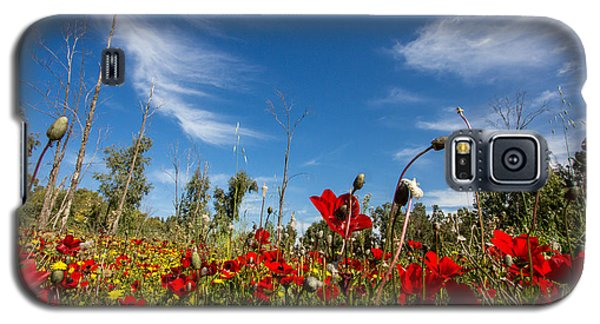 The Poppies Field Galaxy S5 Case