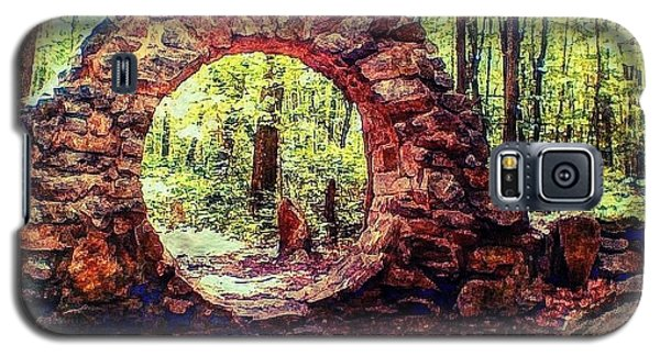 Galaxy S5 Case featuring the photograph The Portal To Love Life Peace 1 by Becky Lupe