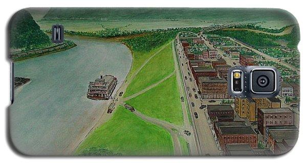 The Portsmouth Ohio Boneyfiddle District 1948 Galaxy S5 Case