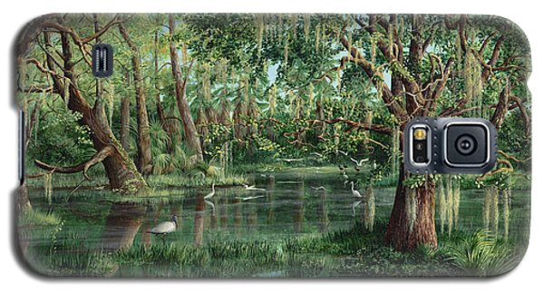 The Preacher And His Flock Galaxy S5 Case by AnnaJo Vahle
