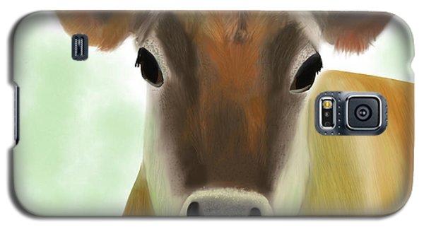 The Pretty Jersey Cow  Galaxy S5 Case