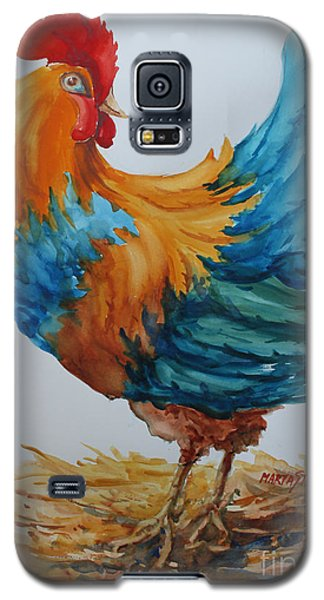 Galaxy S5 Case featuring the painting The Pride Of Yard by Marta Styk