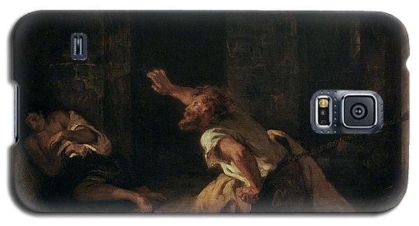 The Prisoner Of Chillon Galaxy S5 Case by Ferdinand Victor Eugene Delacroix