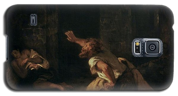 Dungeon Galaxy S5 Case - The Prisoner Of Chillon by Ferdinand Victor Eugene Delacroix