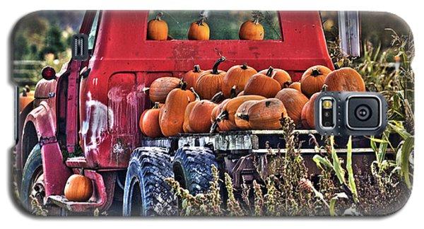 The Pumpkin Hauler Galaxy S5 Case by Sonya Lang