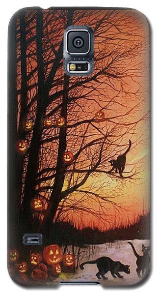 The Pumpkin Tree Galaxy S5 Case