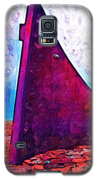 The Purple Pink Wedge Galaxy S5 Case by Kirt Tisdale