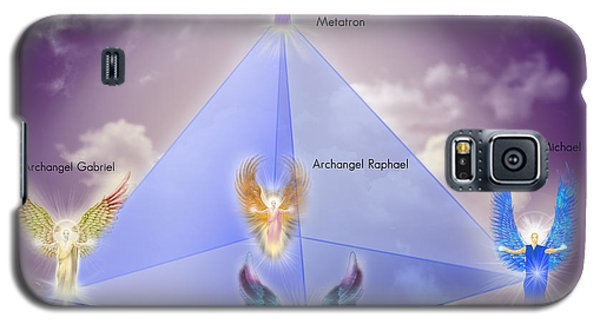 The Pyramid Of The Archangels Galaxy S5 Case