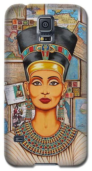 The Queen Of Amarna Galaxy S5 Case by Joseph Sonday