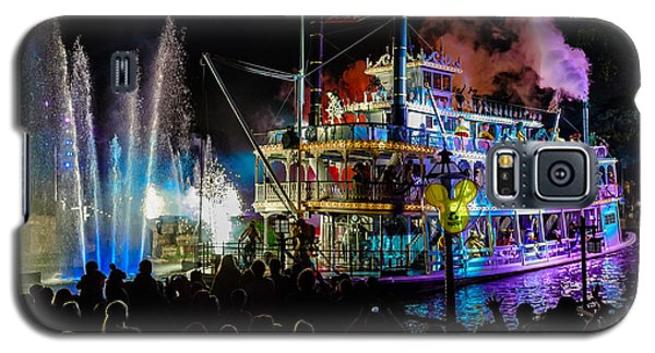 The Mark Twain Disneyland Steamboat  Galaxy S5 Case