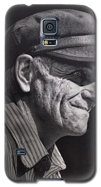 Galaxy S5 Case featuring the photograph The Railwayman by Wallaroo Images