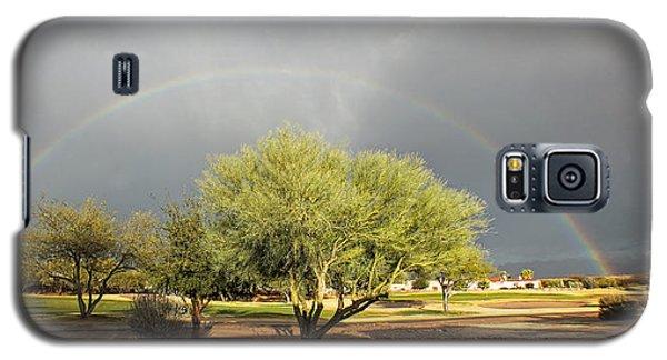 The Rain And The Rainbow Galaxy S5 Case