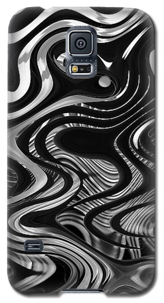 Galaxy S5 Case featuring the photograph The Recipe Is Black And White And Stir Gently by John  Bartosik
