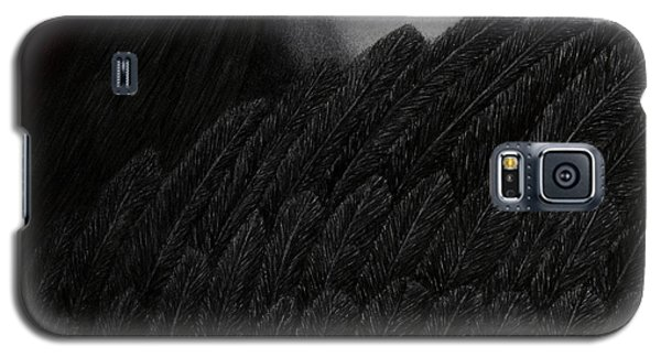 Galaxy S5 Case featuring the painting The Reckoning by Pat Erickson