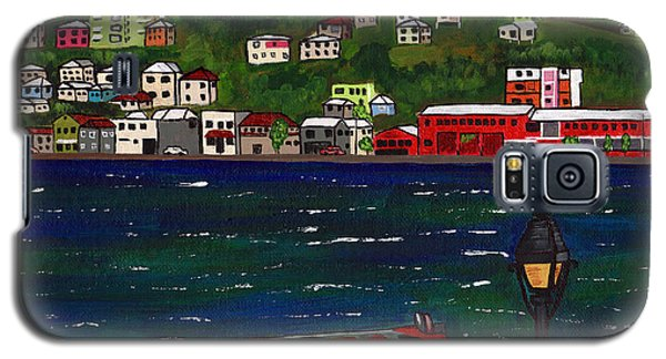 The Red And White Fishing Boat Carenage Grenada Galaxy S5 Case