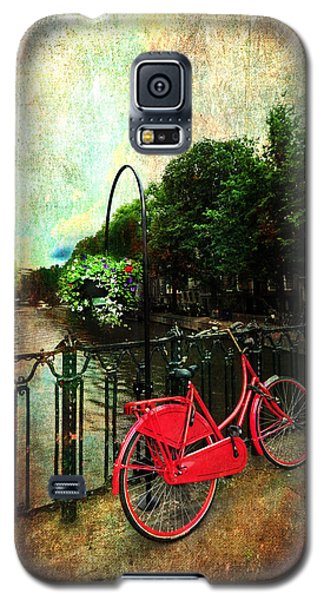 The Red Bicycle Galaxy S5 Case