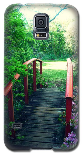 The Red Bridge Galaxy S5 Case by Therese Alcorn