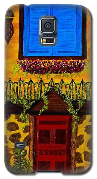 The Red Door Galaxy S5 Case by Celeste Manning
