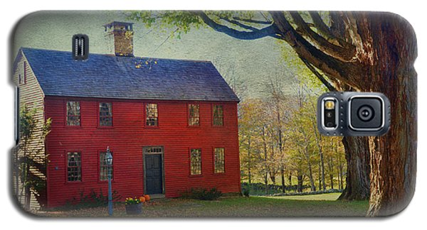Galaxy S5 Case featuring the photograph The Red House by Barbara Manis