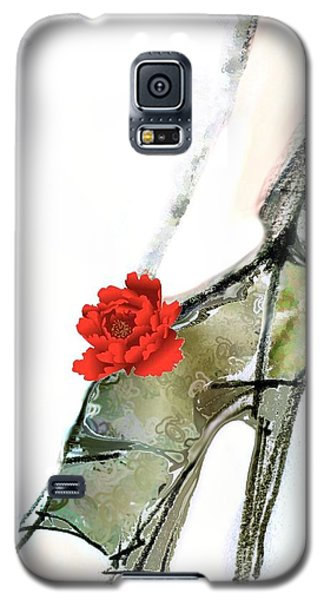 The Red Peony Shoe Galaxy S5 Case