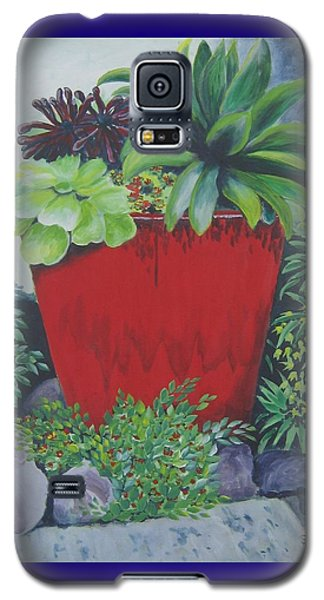 The Red Pot Galaxy S5 Case by Suzanne Theis