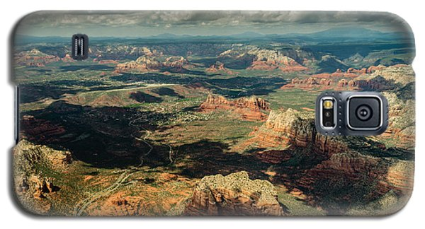 The Red Rocks Of Sedona Galaxy S5 Case