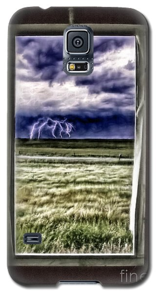 The Red Storm Door Galaxy S5 Case