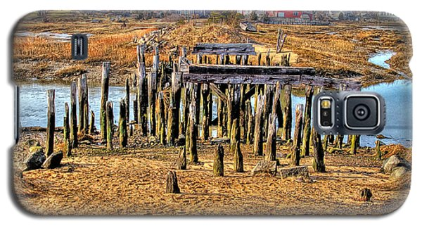 The Remains Of A Wellfleet Bridge Galaxy S5 Case by Constantine Gregory