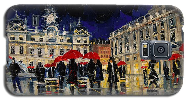 The Rendezvous Of Terreaux Square In Lyon Galaxy S5 Case