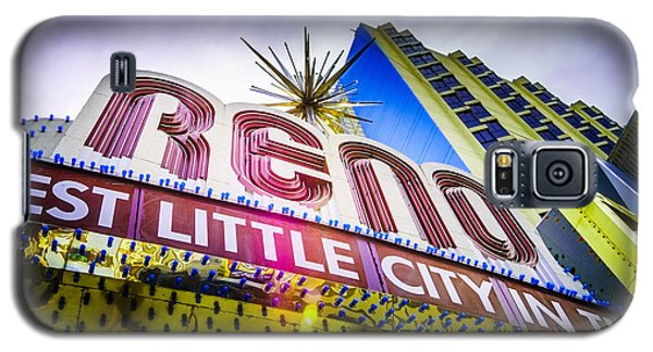 Galaxy S5 Case featuring the photograph The Reno Arch by Janis Knight