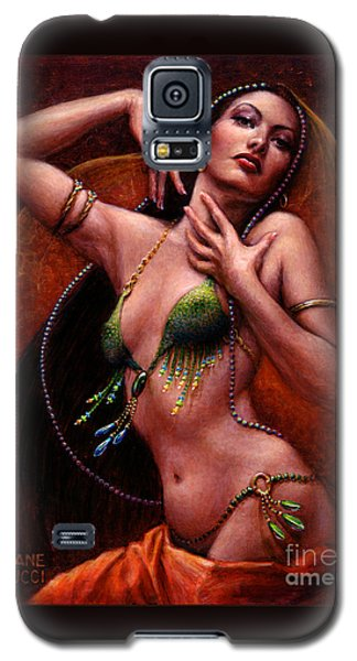 Galaxy S5 Case featuring the painting The Request by Jane Bucci