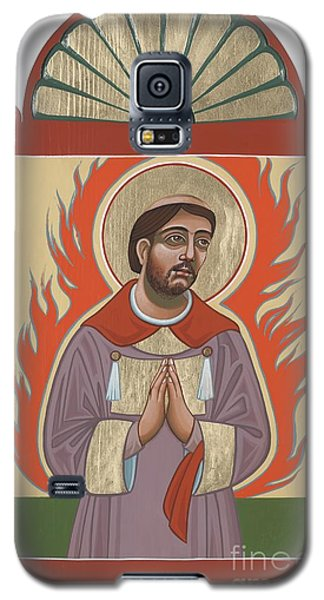 Galaxy S5 Case featuring the painting The Retablo Of San Lorenzo Del Fuego 253 by William Hart McNichols