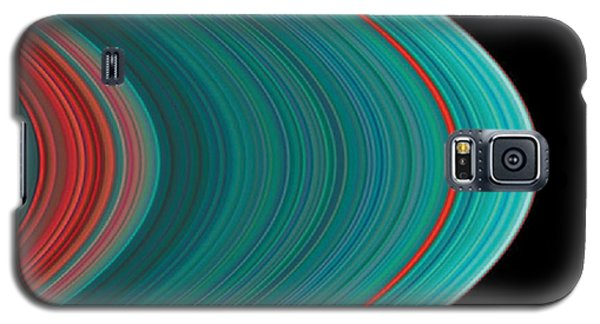 The Rings Of Saturn Galaxy S5 Case by Anonymous