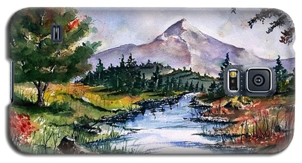 Galaxy S5 Case featuring the painting The River by Richard Benson