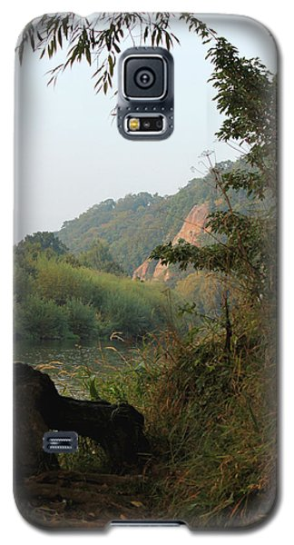 The River Severn Through Bridgnorth Galaxy S5 Case