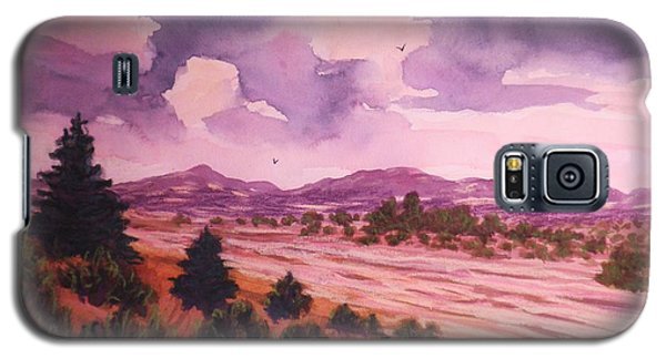 Galaxy S5 Case featuring the painting The Riverbed  by Suzanne McKay