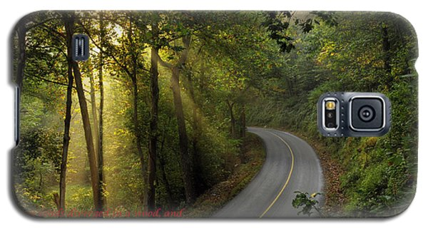 Galaxy S5 Case featuring the photograph The Road Less Traveled 2 by Dan Myers