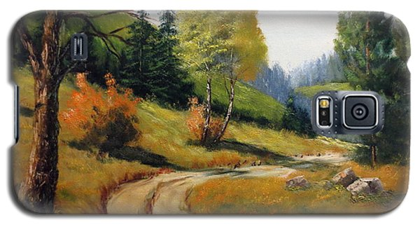 The Road Not Taken Galaxy S5 Case