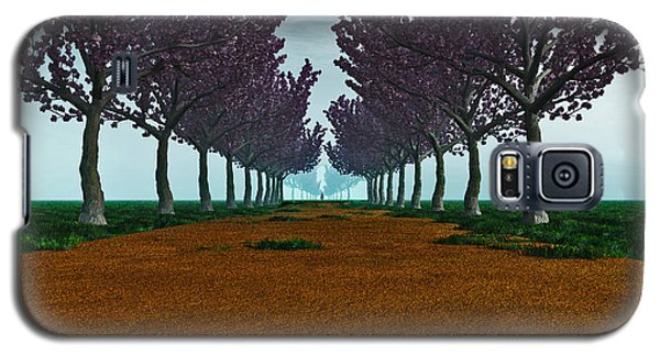 Galaxy S5 Case featuring the digital art The Road... by Tim Fillingim