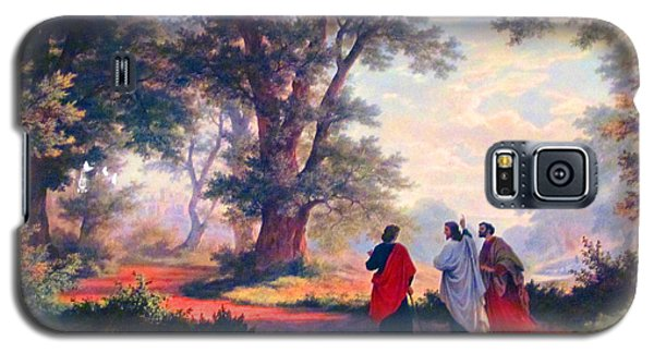 The Road To Emmaus Galaxy S5 Case by Tina M Wenger