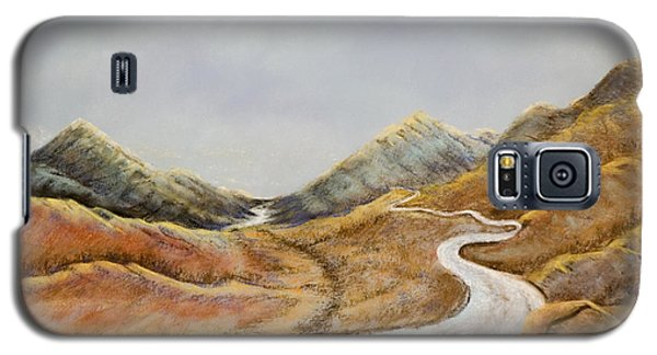 Galaxy S5 Case featuring the painting The Road To Nowhere by Susan Culver