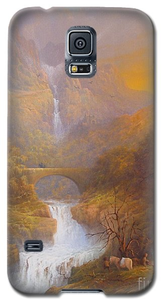 The Road To Rivendell The Lord Of The Rings Tolkien Inspired Art  Galaxy S5 Case by Joe  Gilronan