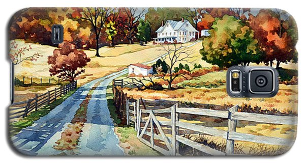The Road To The Horse Farm Galaxy S5 Case