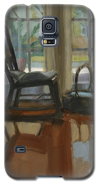 Galaxy S5 Case featuring the painting The Rocker by Nancy  Parsons