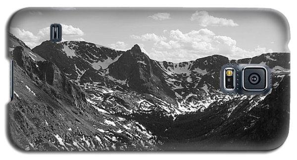 The Rockies Monochrome Galaxy S5 Case by Barbara Bardzik