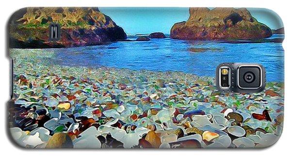 Glass Beach In Cali Galaxy S5 Case