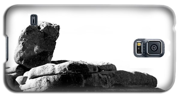 Galaxy S5 Case featuring the photograph The Rocks Of Contrast by Carolina Liechtenstein